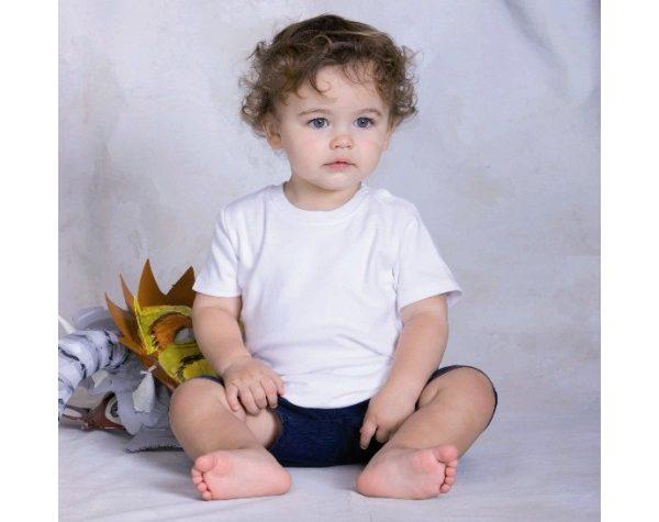 T-shirt neonato in cotone biologico