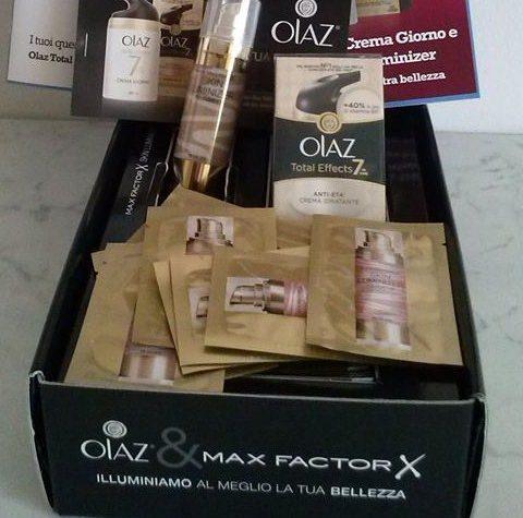 Olaz Total Effects Crema Giorno e Max Factor Skin Luminizer