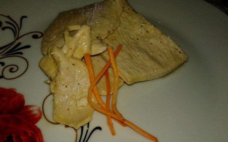 Bistecca saporita in vegetale