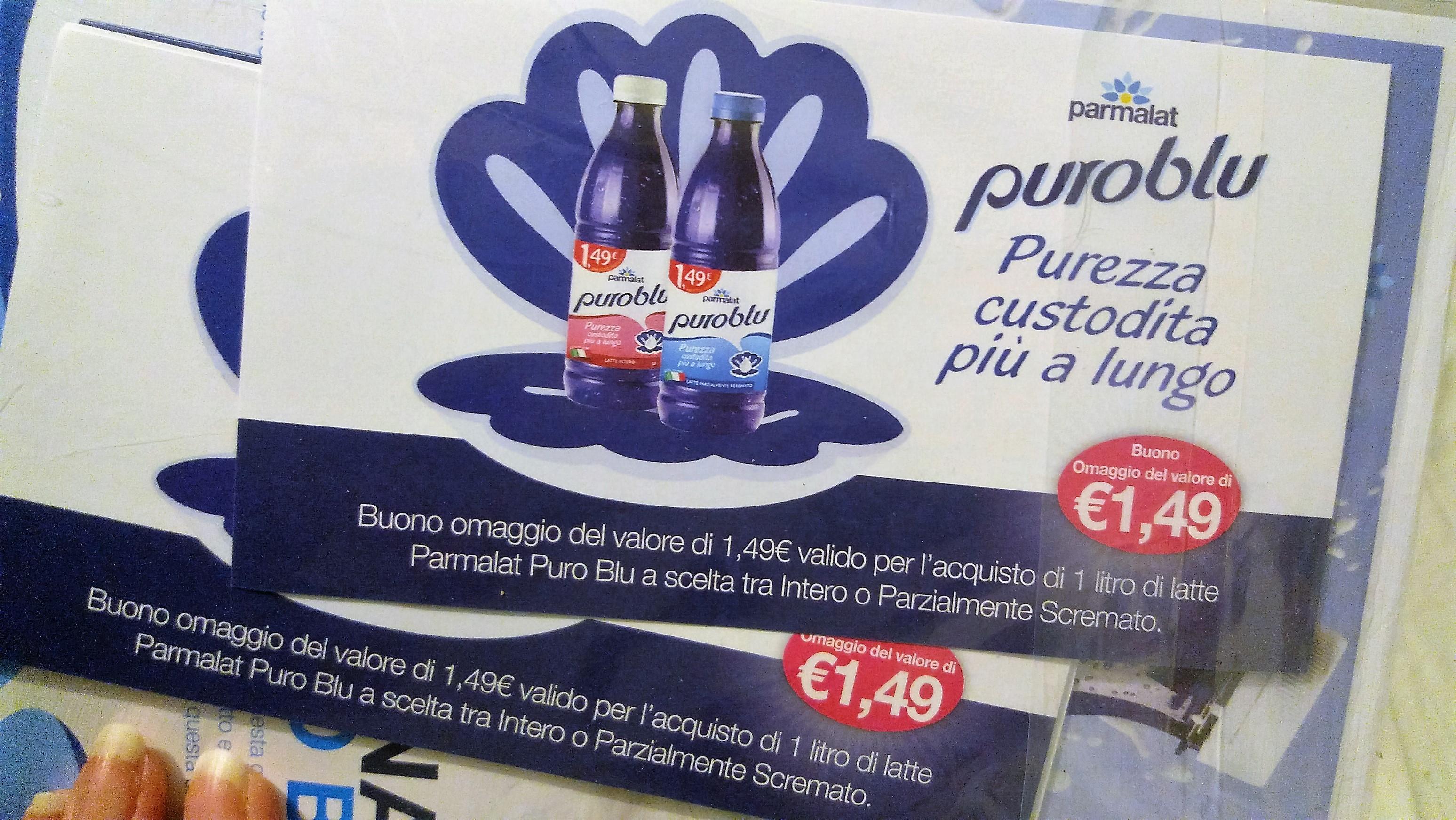 Latte Puro Blu
