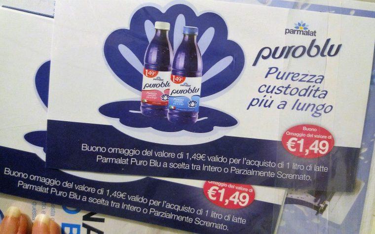Latte microfiltrato Puro Blu