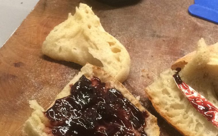 Pane fatto in casa e…